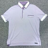 Jekyll And Hyde Casual Short Sleeved Polo Shirt Mens size XL 100% Cotton