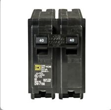 Square D Hom240, (1) 2 Pole 40 Amp 240 Volt Circuit Breaker- New