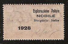 s852) Zeppelin Polar Expedition 1928 Nobile ** Aufdruck kopfstehend inverted