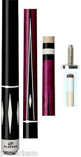 NEW Players C-808 - Purple Stained Pool Cue - FREE US Ship, Joint caps & Q Wiz