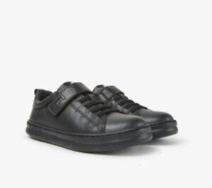Camper Runner Four Boys School Shoes in Black (K800319-001)