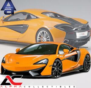 AUTOART 76044 1:18 McLAREN 570S (ORANGE/SILVER WHEELS) SUPERCAR