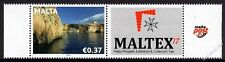 Malta 2017 Se-Tenant MALTEX Unmounted Mint