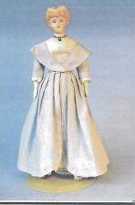"17-18""ANTIQUE CHINA HEAD/PARIAN FASHION LADY DOLL DRESS&OVERDRESS&UNDIES PATTERN"