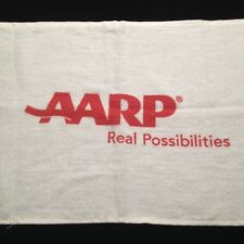 NEW AARP Face Towel Golf Gym Workout Bike Sports Cycle Fitness Yoga 100% Cotton