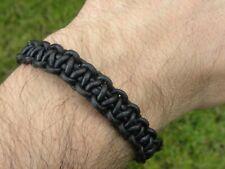 Bracelet gold color genuine leather adjustable knot sliding wristband bracelet