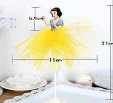 SNOW WHITE Large PRINCESS Cake/Cupcake Toppers Party Supplies Disney Princess
