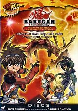 NEW 2DVD // BAKUGAN BATTLE BRAWLERS - NEW VESTROIA SEASON 2, VOL. 1// OVER 3HR