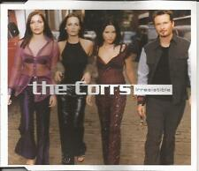 THE CORRS Irresistible w/ 2 LIVE ACOUSTIC TRX Europe CD single SEALED USA Seller