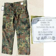 Bundeswehr Feldhose flecktarn NEU Größe 1-15 Baumwolle/Polyester Bundeswehrhose