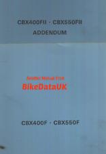 Official Honda CBX550F (1982->) Factory Shop Manual PC04 CBX 400 550 F FII AY35