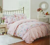 Country Classic 4PC Double Bed Set with 1 Duvet Cover 2 Pillowcases 1 Bedsheet