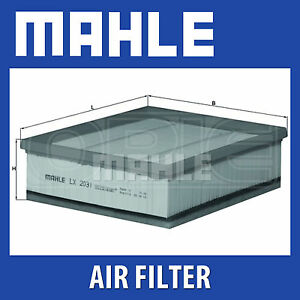 Mahle Air Filter LX2031 - Fits Land Rover Defender - Genuine Part
