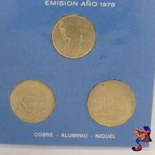 3 Münzen Set Argentinien 1978 WM 1978 Fußball V.1