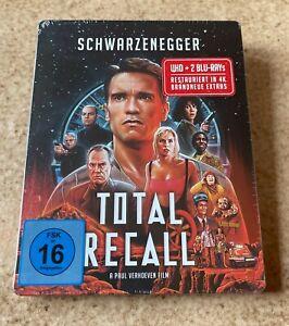 4K UHD * TOTAL RECALL (1990) * A.Schwarzenegger * Ltd.Edt. Steelbook