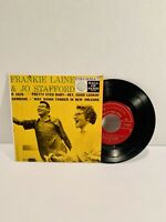 1952 FRANKIE LAINE & JO STAFFORD  45 SINGLE  'HEY GOOD LOOKIN' - VG+!!