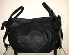 BALDININI Abendtasche Damen Tasche Clutch Bag Leder Leather Schwarz Black NEU