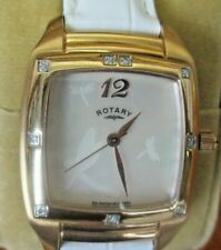 Women's, A++ Grade, Rotary Rocks Diamond RLS00038/41 Wrist Watch