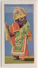 Himalayan Buddhist Saint Sharpa Dancer  Vintage Trade Ad Card