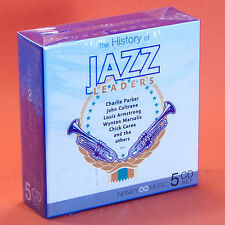 JAZZ LEADERS 5 CD Charlie Parker Louis Armstrong Chick Corea John Coltrane ...