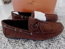 NIB  $195.00 Coach Men's Shoes Brown Suede Mott Lace..Sz. 11.5..BRAND NEW