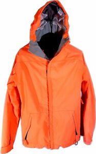 686 Mens X-Small Snow Boarding Ski Jacket Coat Hooded Orange Sku: J1