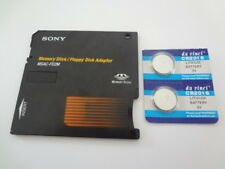 Sony Floppy Disk Adaptor for Memory Stick Model Msac-Fd2M Converts Floppy to Ms