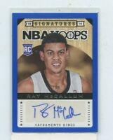 RAY MCCALLUM 2013-14 Panini NBA Hoops Signatures Blue Rookie Auto #D /99