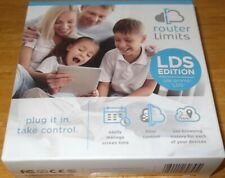 Router Limits Cloud Based Internet Safety Control LDS Edition - PERFECT, UN-USED