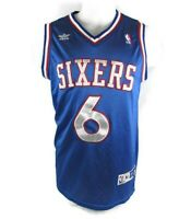 Vintage Julius Erving Adidas Philadelphia 76ers Basketball Jersey Dr J Medium