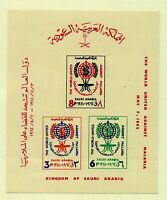 Saudi Arabia 1962 Malaria education imperforate sheetlet sgMS455 (1v) UM Stamps
