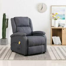 Elektrisch Relaxsessel Massagesessel Fernsehsessel Heizung Stoff FernbedienungDE