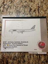BOEING 757 AVIONICS BOOK 1 MANUAL NORTHWEST AIRLINES