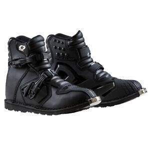 O'Neal Men's Adult Rider Shorty Boots Black Off-Road/MX/ATV/Motocross 0344-