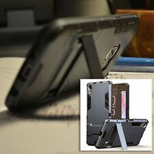Original Sony Xperia XZ  Rugged Armour Multi Tech Survival Case Rock Cover Blue