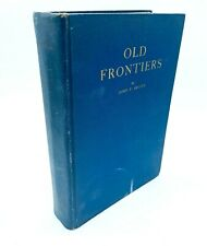 SIGNED Old Frontiers Story of Cherokee Indians by John P. Brown (1938)