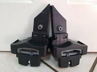 Pair Britax Baby Safe Single Pushchair Car seat Adapters Britax B agile B motion