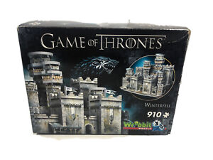 WREBBIT 3D JIGSAW PUZZLE GAME OF THRONES WINTERFELL 910 PCS #W3D-2018