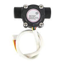 G1 / 2 Turbinen- Durchflussmesser Durchflusssensor Temperatursensor für arduino