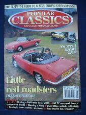 Popular Classics magazine - May 1995 - VW Type 3 - MG TC - Lotus