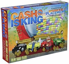 Worker Placement: Cash is King Expansion Board Game