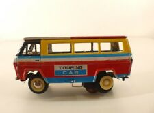 558 MF 134 Chine autobus bus Touring car tôle friction 17 cm tin toy à restaurer