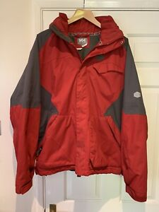 Mens Helley Hansen Red Helly Tech Ski Jacket Size M, Excellent Condition.