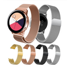 For Samsung Galaxy Watch Active2 40mm Replacement Metal Milanese Band Strap
