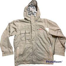 New listing FourSquare 25K Ski Snowboard Jacket coat men Medium Hood multi pockets tan
