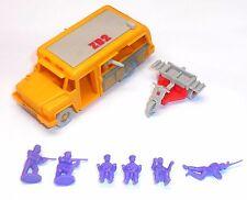 1980's Bluebird Toys - Zero Hour ~ ZB2 UAV ARMED TOURBUS ~  & Trike - 6324