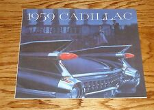 1959 Cadillac Full Line Sales Brochure 59 Coupe Fleetwood