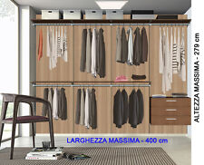 Misure Cabina Armadio Kits : Arredo cabina armadio acquisti online su ebay