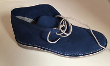 Next Blue Men / Women Suede Desert Boots UK Size 7 Unisex