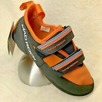 Mad Rock Flash 2.0 Climbing Shoe Black/Orange Size 6